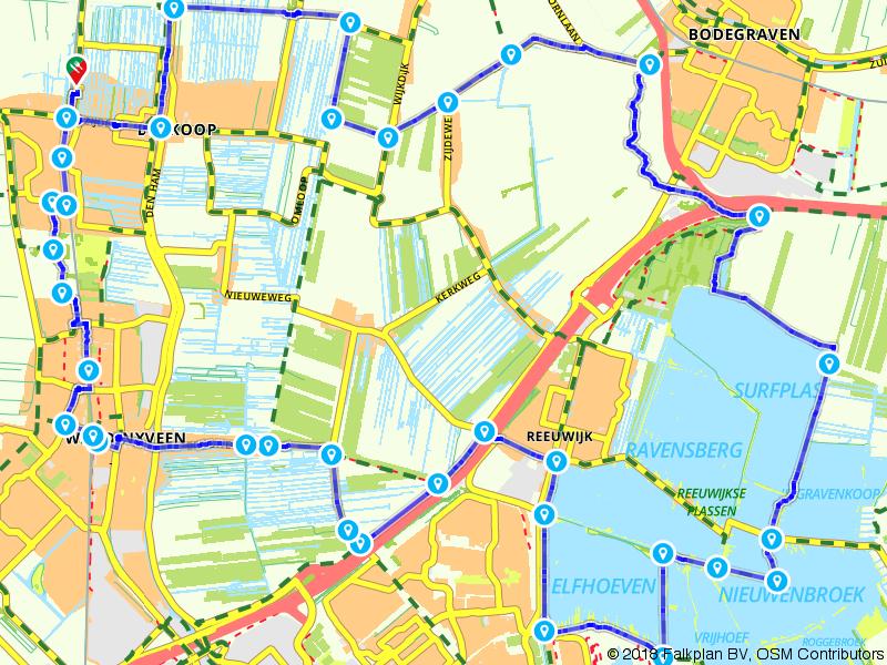 Rondje Reeuwijkse Plassen