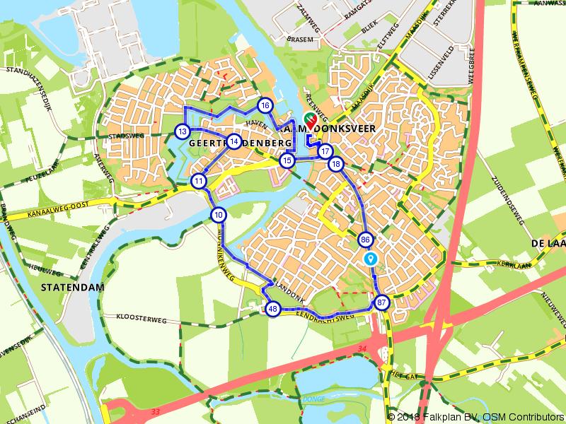 Wandelen door Raamsdonksveer en Geertruidenberg