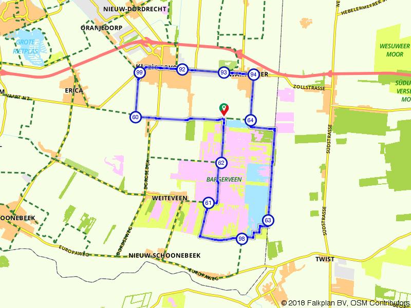 Bargerveen - Klazienaveen - Zwartemeer
