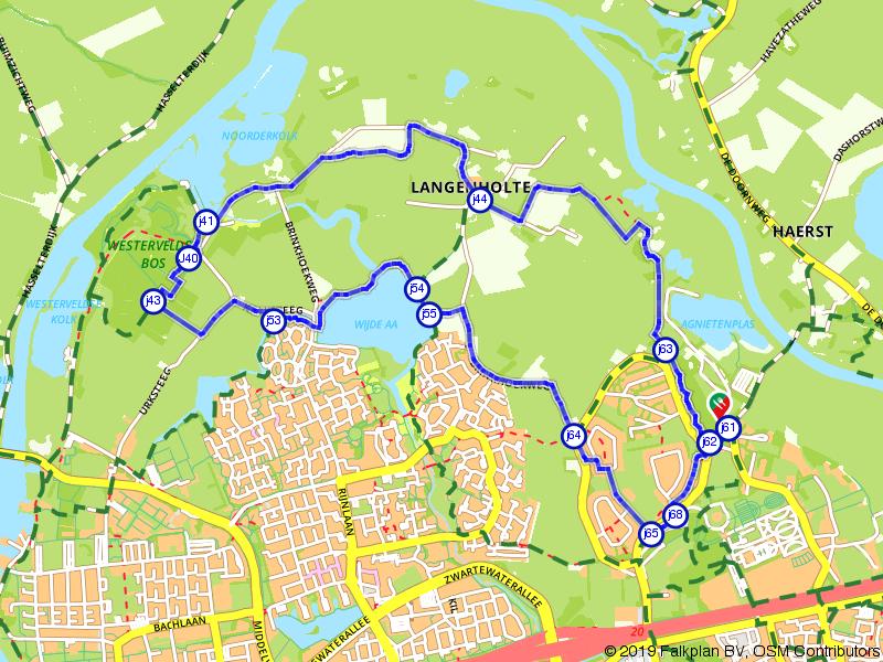 Wandelroute door het buitengebied van Zwolle