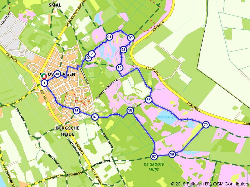 Wandelroute Eendenmeer