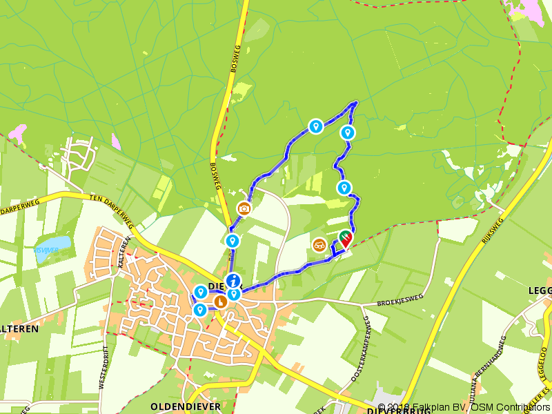 Shakespeare route