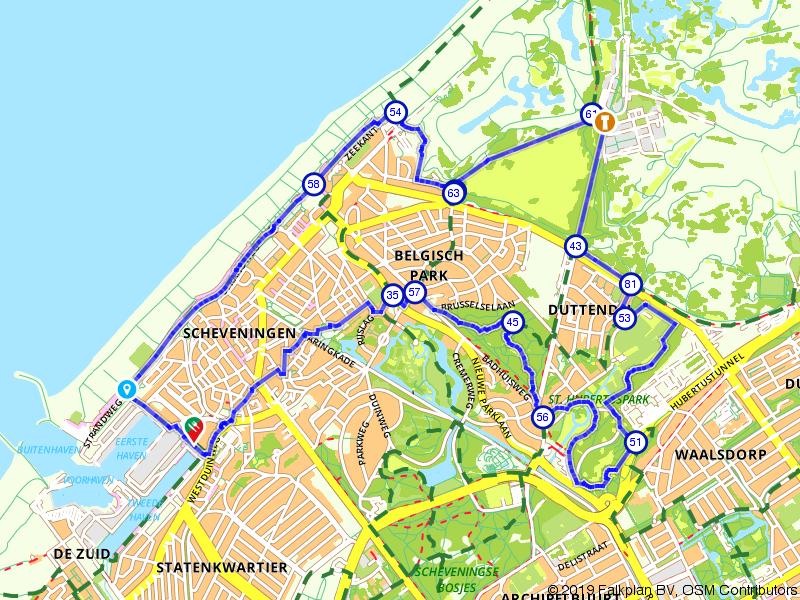 Duinen en parken van Scheveningen