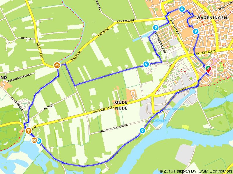 De Grebbesluis bij Wageningen