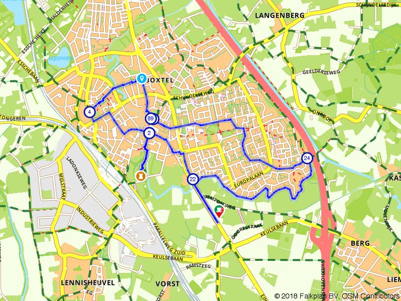 Wandelroute Boxtel