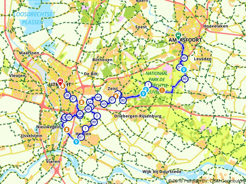 Von Uffenbach Route deel 5 (Amersfoort - Utrecht)