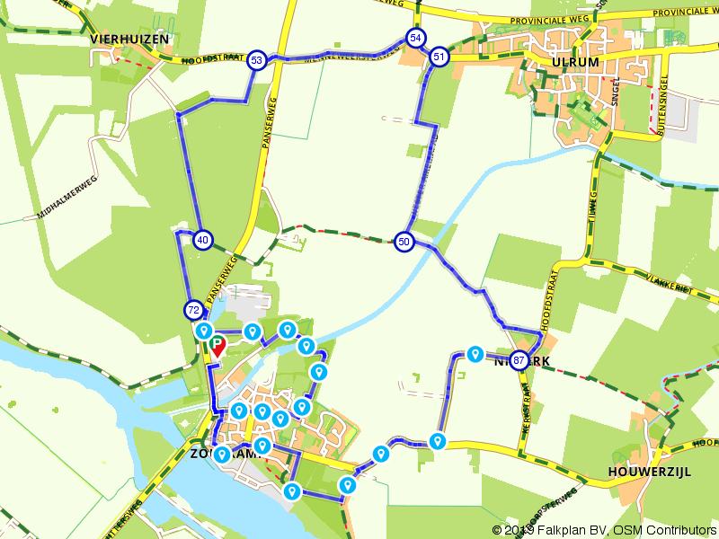 De Marne: wandeling van Zoutkamp naar Niekerk