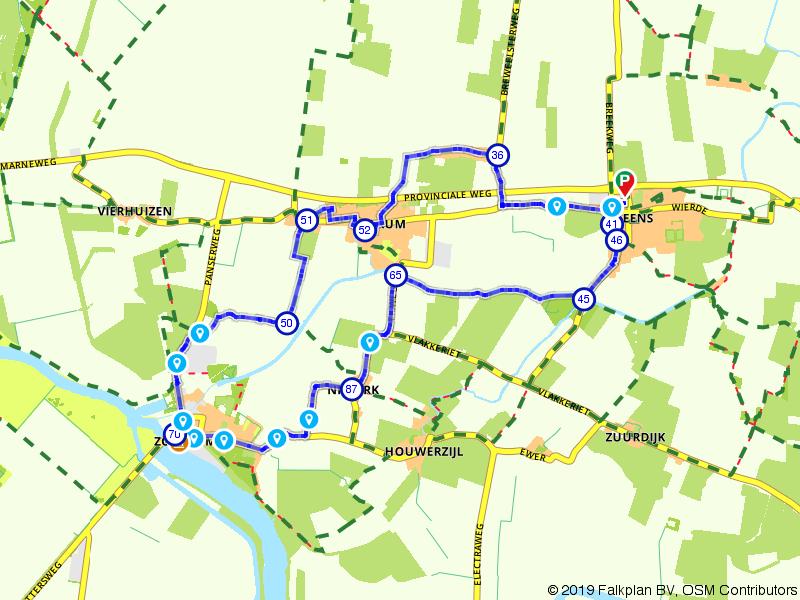 De Marne: Zoutkamp, Leens en Ulrum