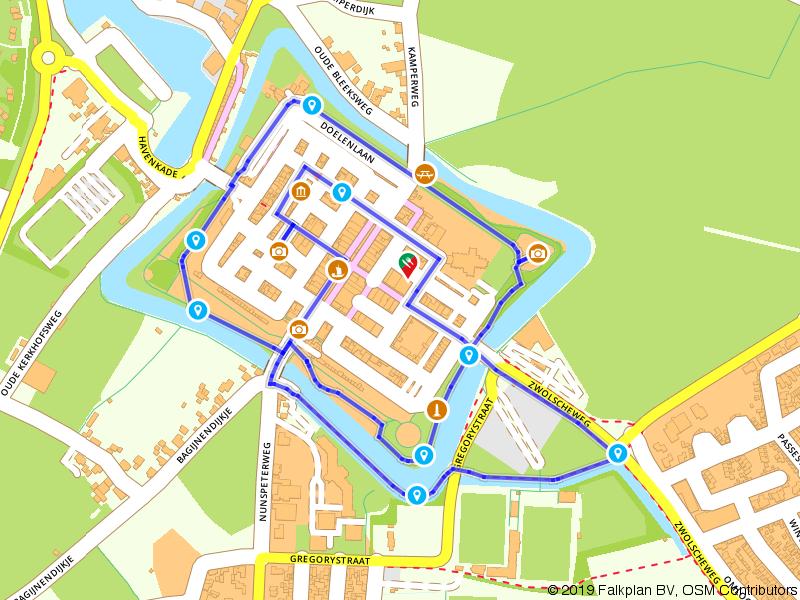 Wandelroute door Elburg