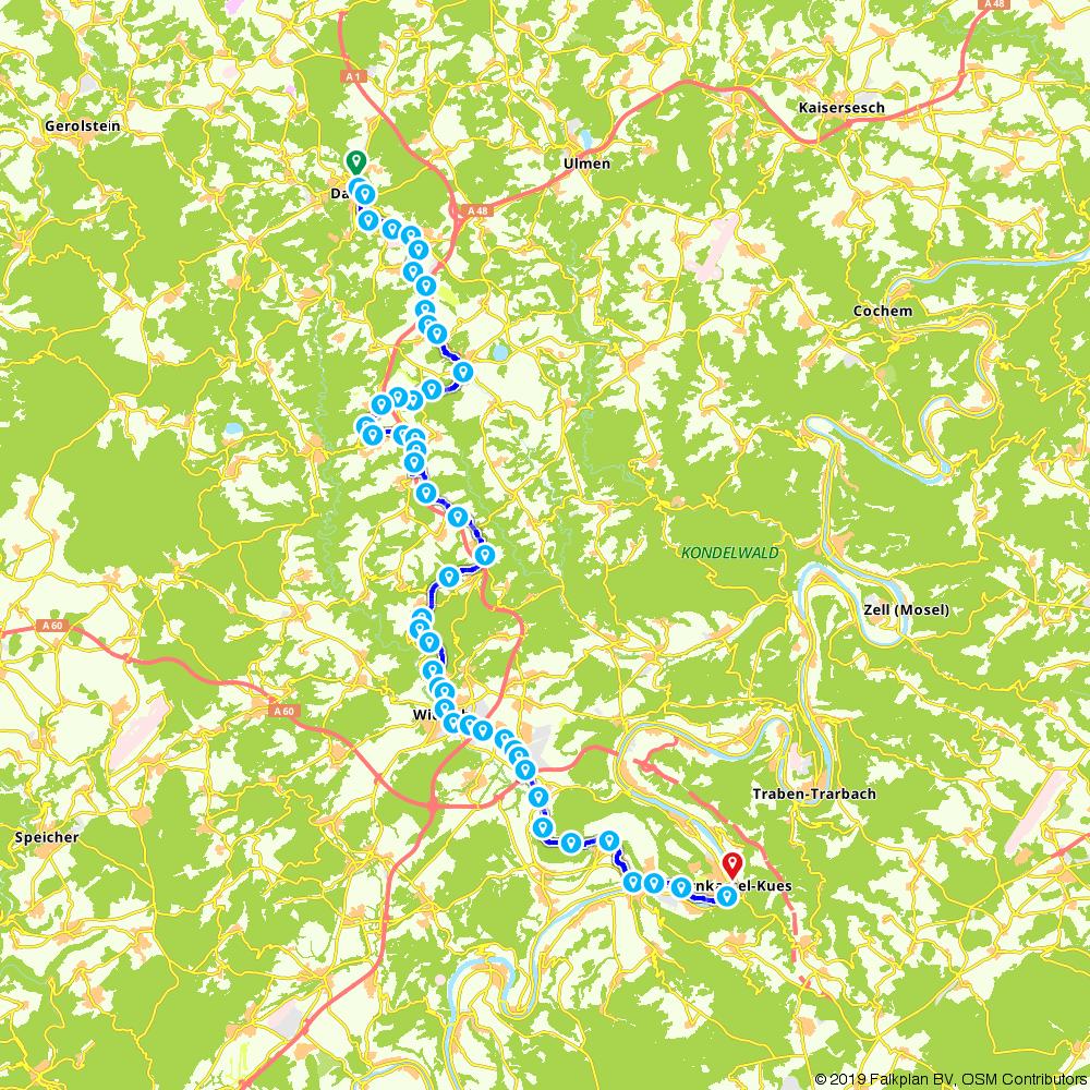 Mosel Radweg Karte Pdf.Fietsroute 773879 Maare Mosel Radweg