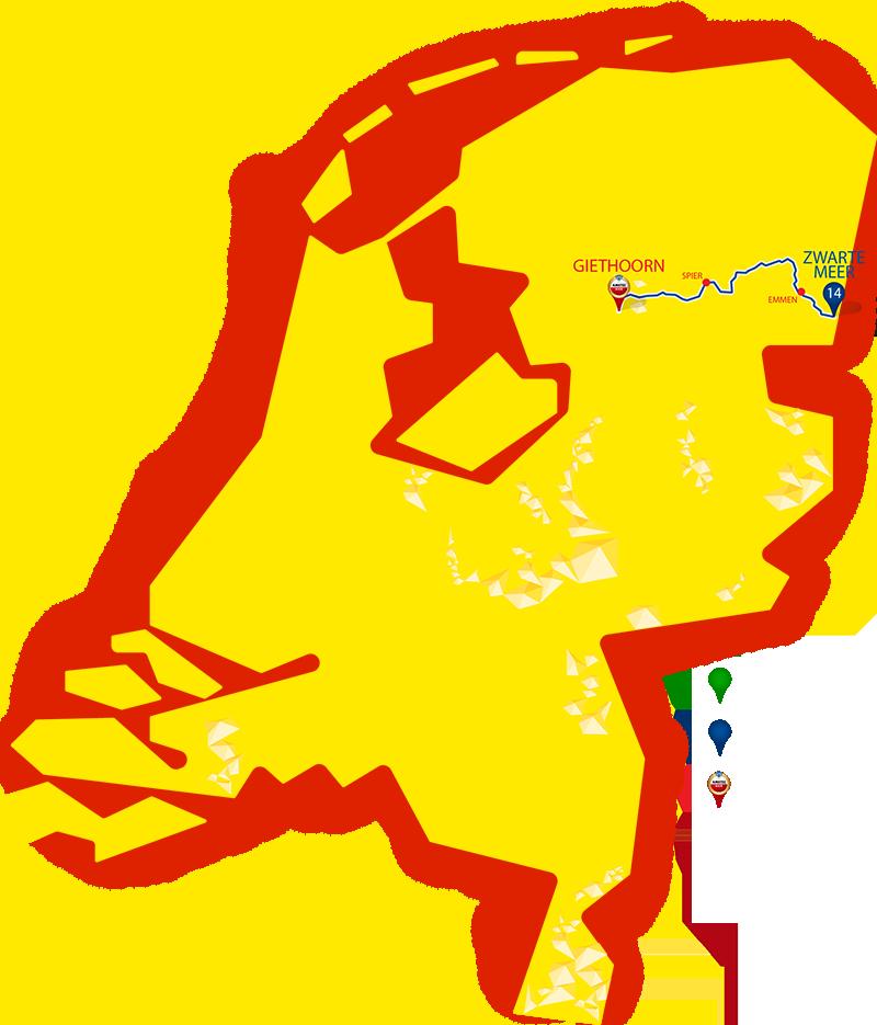 Etappe 14 - Zwarte meer - Giethoorn
