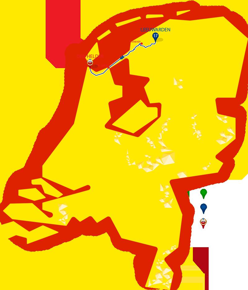 Etappe 17 - Leeuwarden - Den Helder
