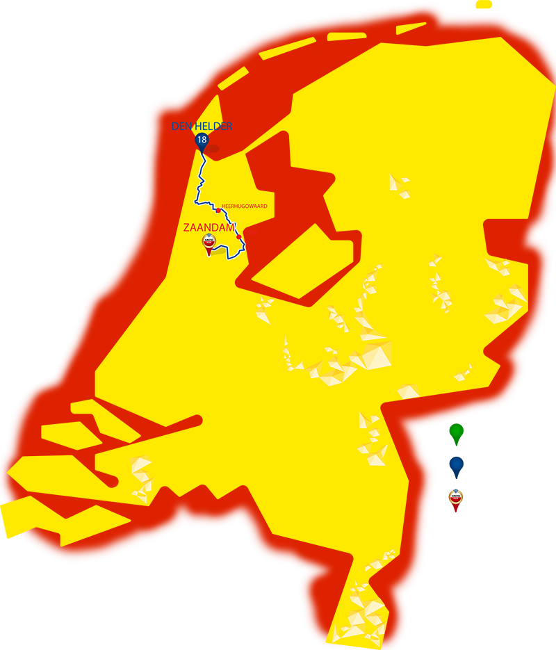 Etappe 18 - Den Helder - Zaandam
