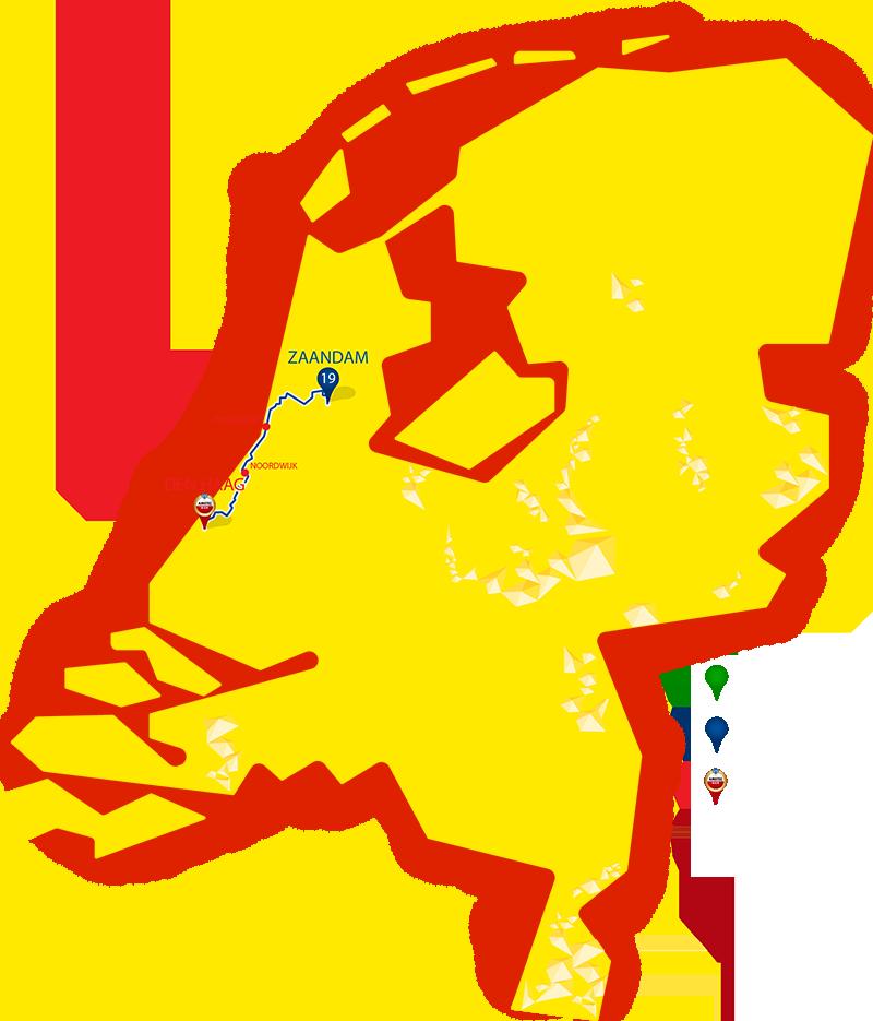 Etappe 19 - Zaandam - Den Haag