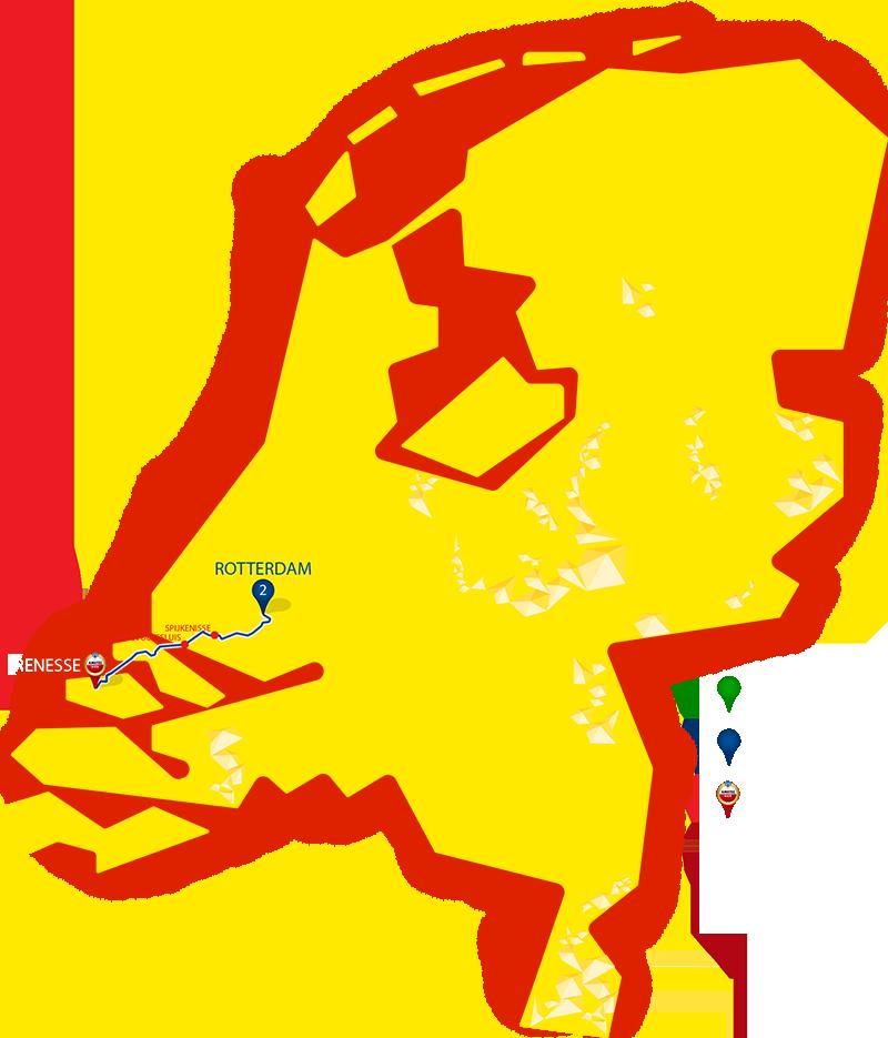 Etappe 2 - Rotterdam - Renesse