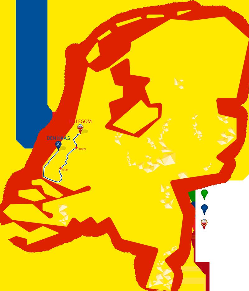 Etappe 20 - Den Haag - Hillegom