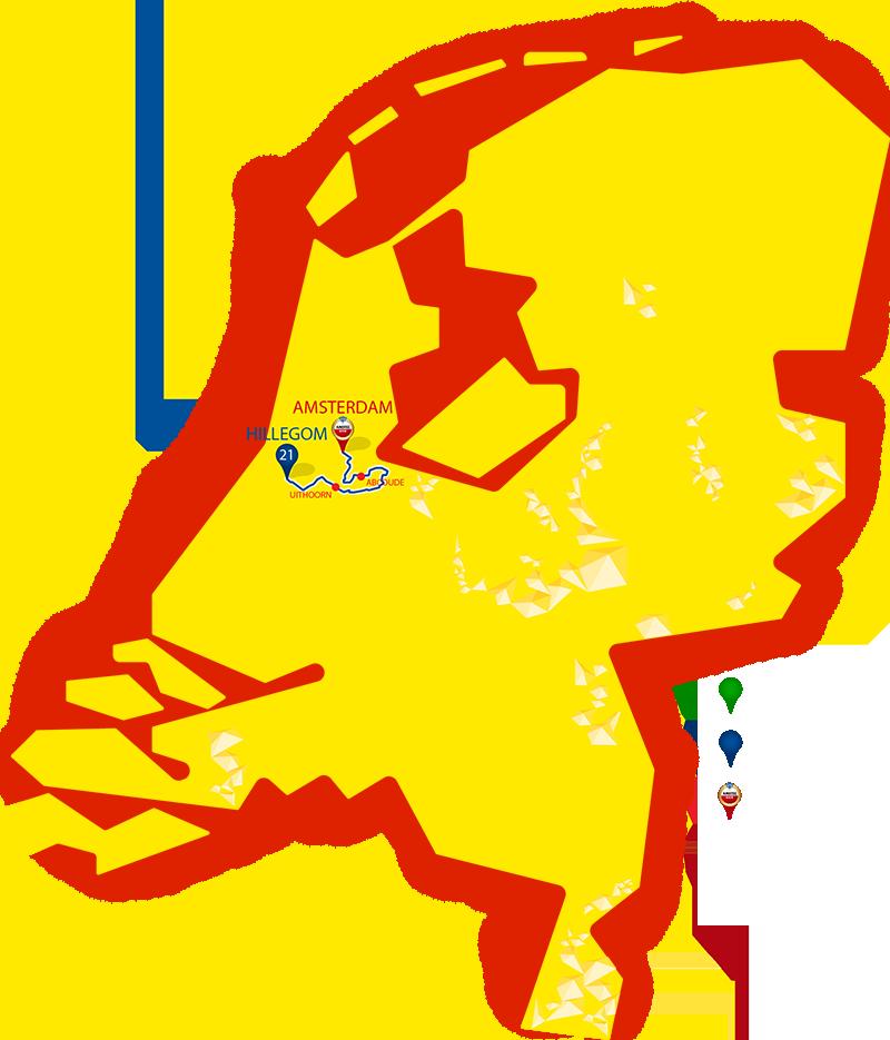 Etappe 21 - Hillegom - Amsterdam