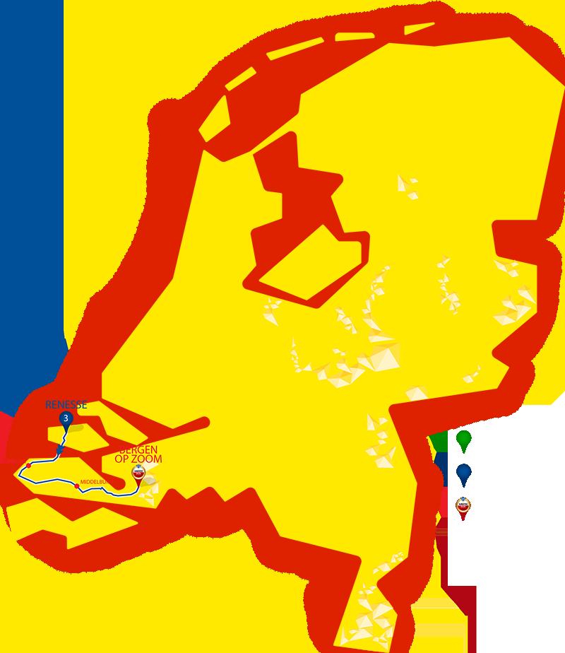 Etappe 3 - Renesse - Bergen op Zoom