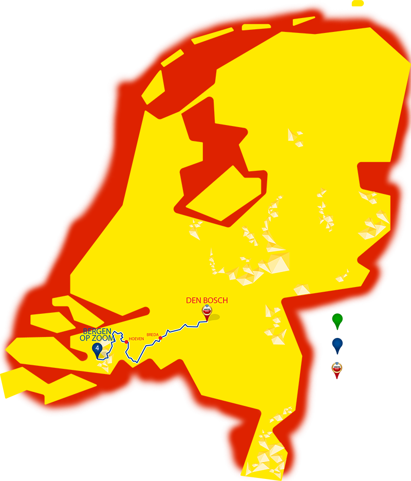 Etappe 4 - Bergen op Zoom - Den Bosch