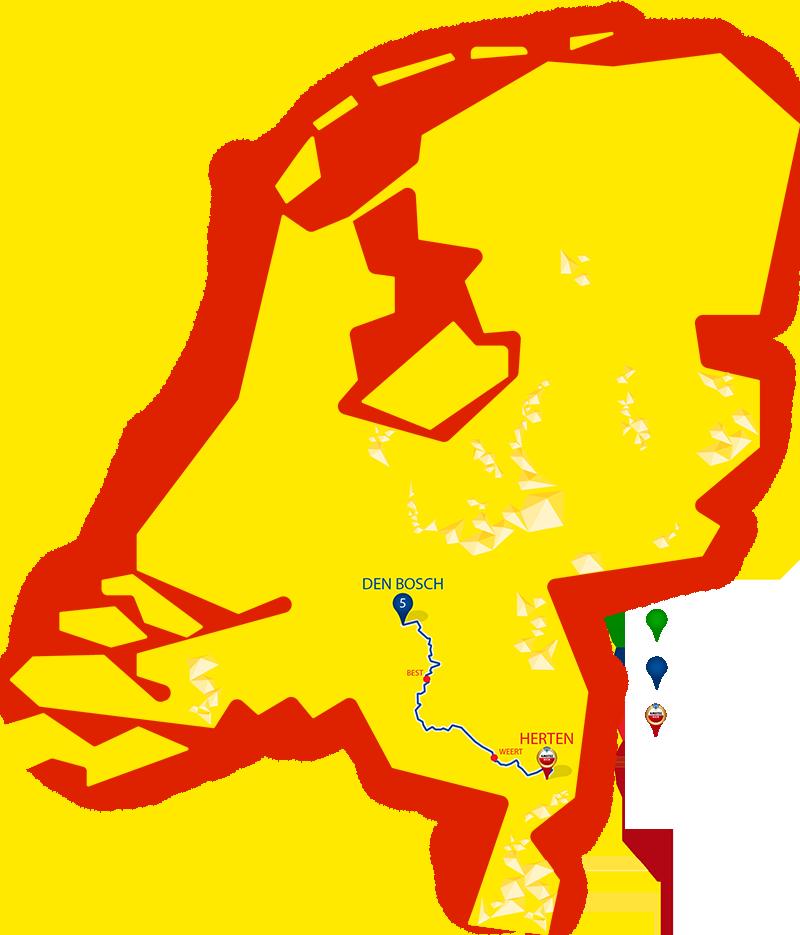 Etappe 5 - Den Bosch - Herten