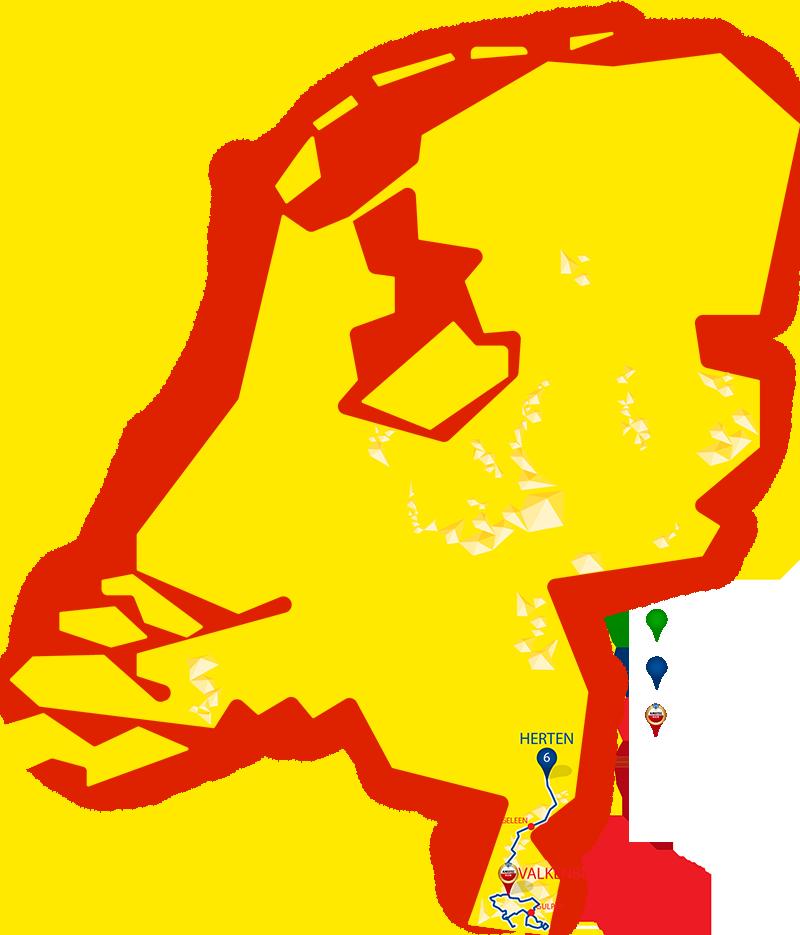 Etappe 6 - Herten - Valkenburg