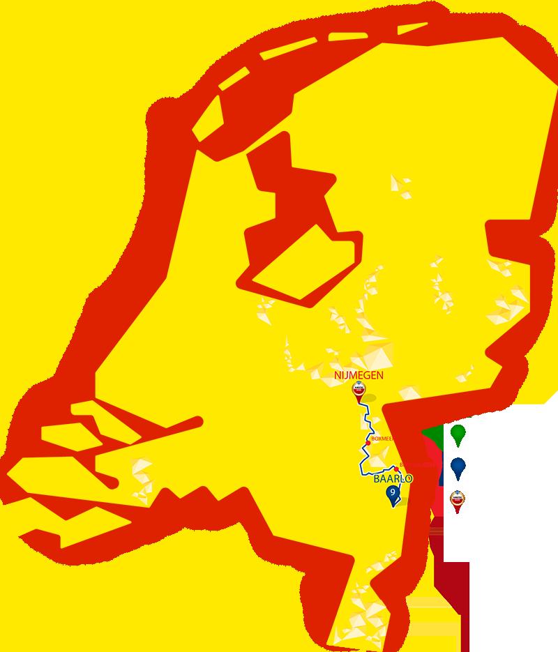 Etappe 9 - Baarlo - Nijmegen